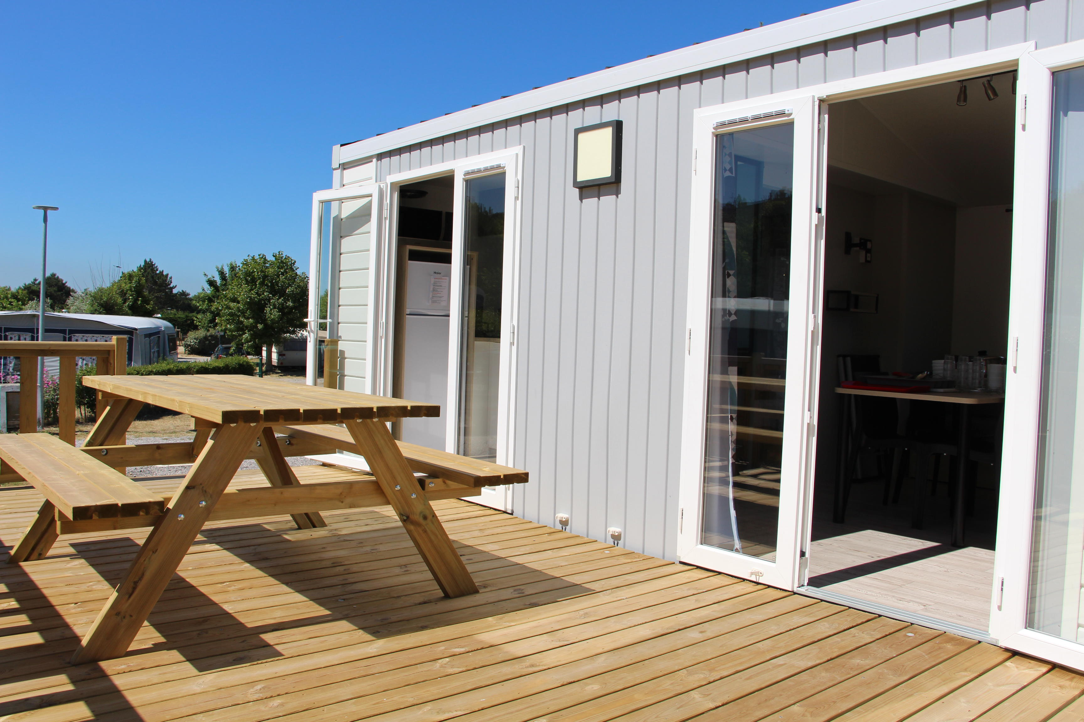 Mobil-homes - Camping Municipal de la Source